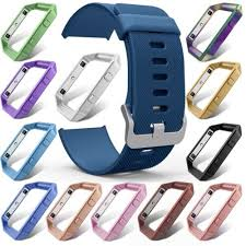 watch band parts Sport Soft <b>Silicone Replacement Bracelet</b> Strap ...