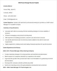 manufacturing resume template 26 free samples examples format sample product manager junior product manager resume