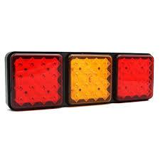 1Pcs <b>Universal Integrated</b> LED <b>Tail Light</b> Stop/Turn Signal/<b>Brake</b> ...