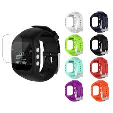 Replacement <b>Silicone Watchband</b> Wrist Band <b>Watch Strap</b> + <b>Screen</b> ...