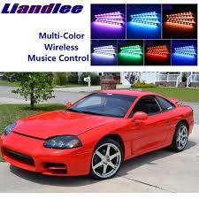 <b>LED Car</b> Interior Kit Glow Under Dash <b>Foot</b> Well Seats Inside Light ...