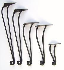 hand forged wrought iron table legs by maidensofironinc on etsy black wrought iron table