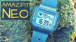 <b>Amazfit Neo</b> Smartwatch: A Casio Retro Flashback with Basic <b>Smart</b> ...