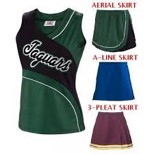 Girls <b>Aerial</b> Cheer Shell Cheerleading Tops