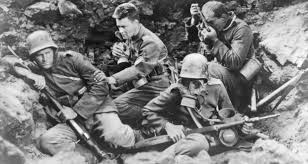 all quiet on the western front  portrait of germany    s generation wara still from the hollywood film of all quiet on the western front  starring