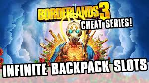 Borderlands 3 Cheats - Infinite Backpack Slots! - YouTube