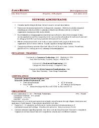 networking resume network engineer resume network administrator cover letter network administrator
