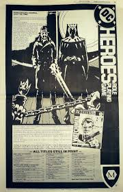 today in comics history comics buyer s guide jan 8 1988 rounding out the issue was an ad for the watchmen role playing game from fair games the watchmen series hadn t ended that long before