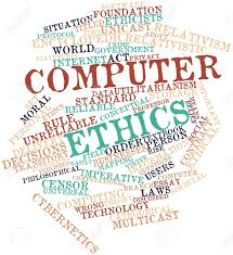 abstract word cloud for computer ethics related tags and abstract word cloud for computer ethics related tags and terms stock photo 16500496