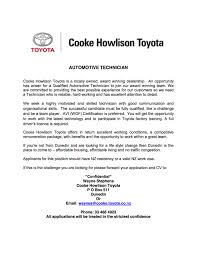 job opportunities cooke howlison toyota job opportunities