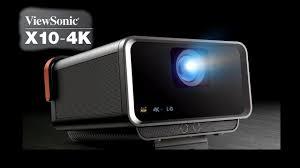 <b>ViewSonic X10</b>-<b>4K</b> 4K UHD Short Throw Portable Smart LED Projector