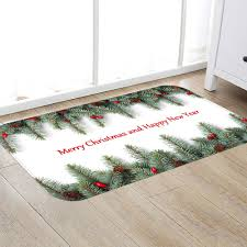 Merry <b>Christmas</b> Pine <b>Decoration Digital Printing</b> Flannel Mat Sale ...