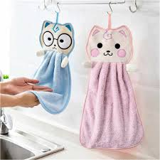 Cute <b>Baby Nursery</b> Rabbit <b>Hand Towel</b> Toddler Soft Plush Cartoon ...