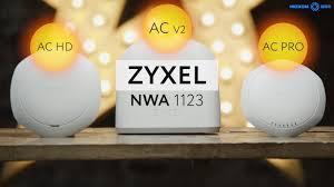 Обзор точек доступа <b>Zyxel</b> линейки <b>NWA1123</b> в 4k - YouTube