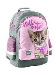 """<b>Рюкзак</b> школьный """"Привет котик"""" PASO 11479688 в интернет ..."""