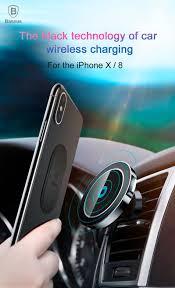 Магнитный <b>держатель Baseus Big</b> Ears Car Mount Wireless ...
