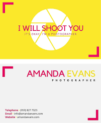 business card design 50 awesome examples to inspire you fun and informal