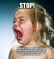 OFFENDED BABY memes | quickmeme via Relatably.com