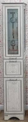 <b>Пенал напольный белый серебряная</b> патина L Sanflor Адель ...
