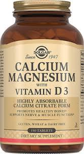 """Solgar, Calcium Magnesium with Vitamin D3 """"Кальций-<b>Магний</b> с ..."""