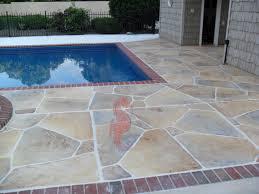 patio overlay limestone