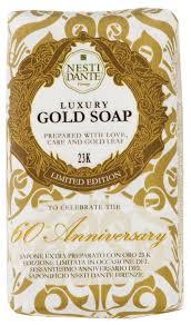 Купить <b>Мыло</b> кусковое Nesti Dante <b>60th Anniversary</b> Gold, 250 г по ...