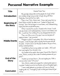 example of a narrative essay narration essay example