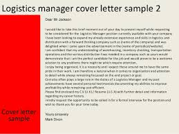 cover letter covers letters examples covers letters examples     aploon Assistant logistics manager cover letter