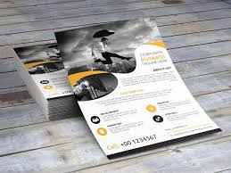 advertising flyer template psd for products business events and fully editable advertisement flyer template