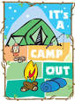 Images & Illustrations of camp out