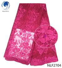 BEAUTIFICAL French lace fabrics Wholesale nigerian embroidery ...