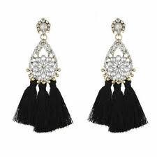 Кристалл <b>серьги</b> кисточка богемный моды - огромный выбор по ...