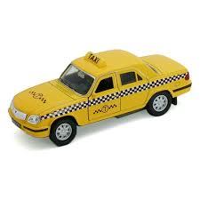 Игрушка <b>WELLY</b> 42384TI <b>Модель машины</b> Волга Такси — купить ...