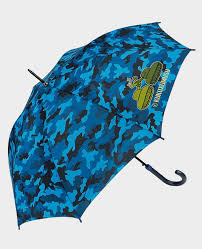 Tanks blue - Long <b>Automatic Umbrella</b>