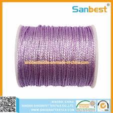 China <b>3</b>/<b>6</b>/<b>9</b>/12 Strands Metallic Weaving Thread Photos & Pictures ...