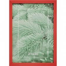 <b>Рамка 21х30см</b> деревянная, <b>профиль</b> №2, цвет ?красный?