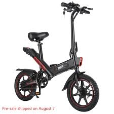<b>DOHIKER Y1 Folding</b> Electric Bicycle 350W 36V Waterproof Electric ...