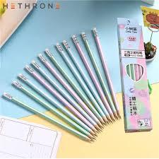<b>Hethrone</b> 5PCS <b>Colorful</b> Magic Bendy Flexible Soft Pencil with ...