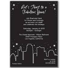 Items similar to Holiday in the City Invitations for New Year's ...