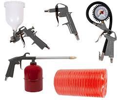 <b>Набор</b> пневмоинструментов, 5 предметов, <b>QUATTRO ELEMENTI</b> ...