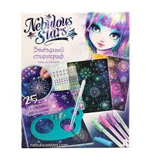 <b>Набор</b> для рисования Nebulous Stars <b>Звездный</b> спирограф 11106 ...