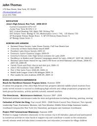 sample college resume for high school seniors professional sample college resume for high school seniors sample resume high school student academic aie you a
