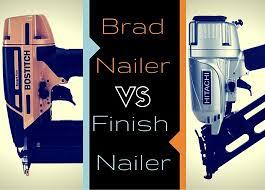 <b>Brad Nailer</b> vs. <b>Finish Nailer</b> - Here's the Difference: