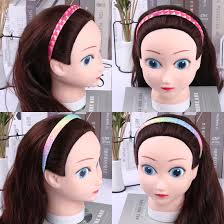 8pcs/set <b>Glitter</b> Headband <b>Girls</b> Sweet Hairband Women ...