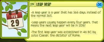 Resultado de imagen para leap`year