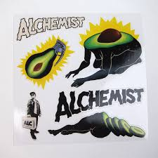 the alchemist i salad colored vinyl vinyl lp