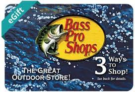New! Bass Pro Shops Any Occasion eGift Card