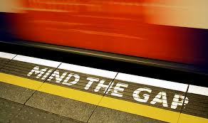 Image result for mind the gap images