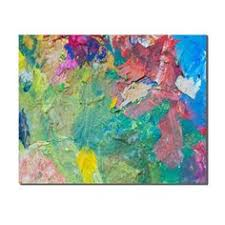 <b>Laeacco Abstract</b> Flowers Landscape Modern Oils Painting Canvas ...