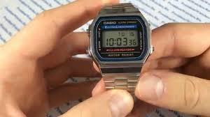 Обзор на <b>часы Casio A-168WA</b>-<b>1</b> - видеообзоры от ...